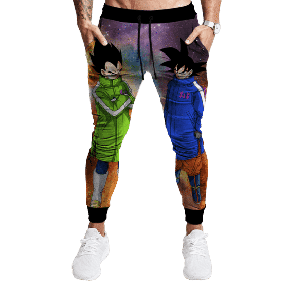 Dragon Ball Broly Movie SAB Vegeta Goku Galaxy Track Pants