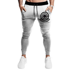Dragon Ball Capsule Corp Minimalist Light Awesome Track Pants