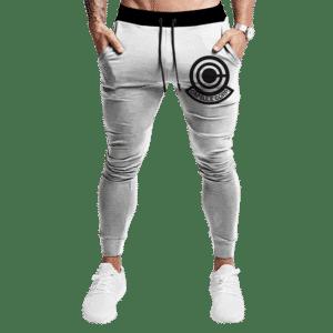 Dragon Ball Capsule Corp Minimalist Light Awesome Track Pants
