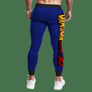 Dragon Ball GT Kid Goku Dragon Fist Awesome Blue Jogger Pants