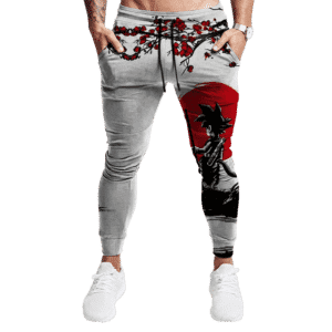 Dragon Ball Kid Goku Japanese Inspired Art Tracksuit Bottoms