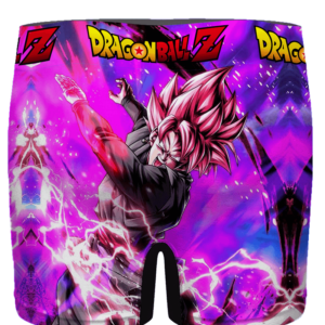 Dragon Ball Goku Black Saiyan Rose Awesome Men's Underwear - back
