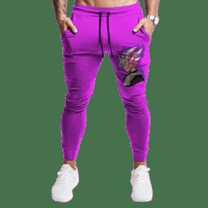 Dragon Ball Goku Black Super Saiyan Rose Vector Jogger Pants