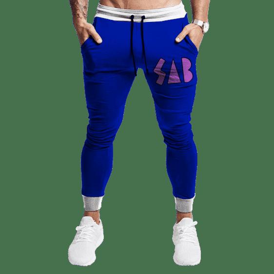 Dragon Ball Goku SAB Broly Movie Blue Tracksuit Bottoms