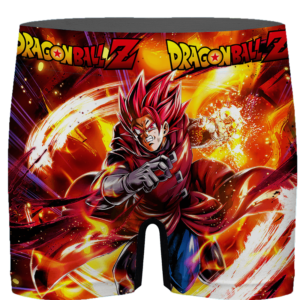 Dragon Ball Legends Giblet The Saiyan In Red Men's Boxer