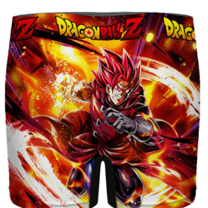 Dragon Ball Legends Giblet The Saiyan In Red Men's Boxer - back