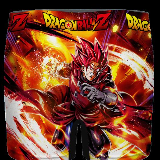 Dragon Ball Legends Giblet The Saiyan In Red Men's Boxer - back