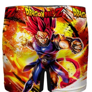 Dragon Ball Legends Shallot Super Saiyan God Men's Boxer Brief - back