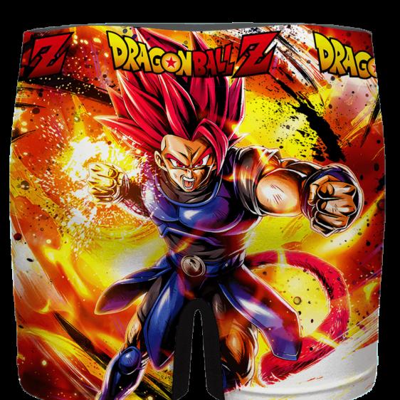 Dragon Ball Legends Shallot Super Saiyan God Men's Boxer Brief - back