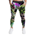 Dragon Ball Super Broly Majestic Trippy Colors Epic Track Pants