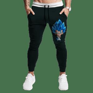 Dragon Ball Super Gogeta Saiyan Blue Chibi Cute Joggers