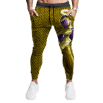 Dragon Ball Super Golden Frieza Awesome Yellow Gold Track Pants