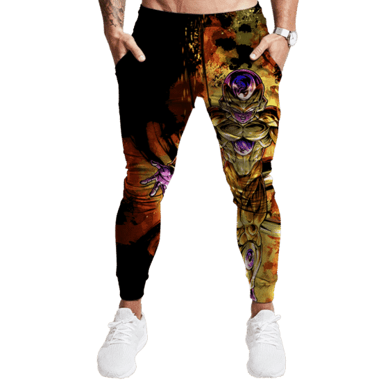Dragon Ball Super Golden Frieza Cool Fiery Aura Dope Jogger Pants