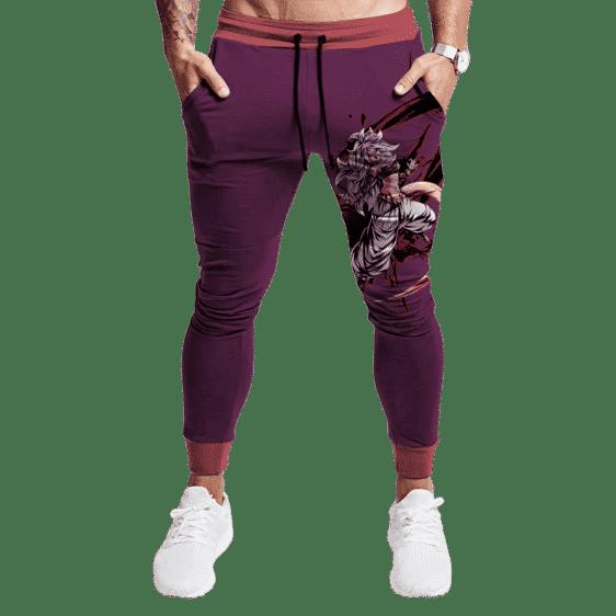 Dragon Ball Z Striking Android 21 Purple & Pink Sweatpants