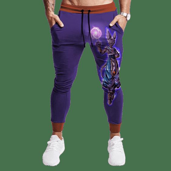 Dragon Ball Z Beerus The God Of Destruction Tracksuit Bottoms