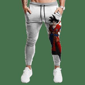 Dragon Ball Z Goku Base Form Cool Red Costume Minimalist Joggers