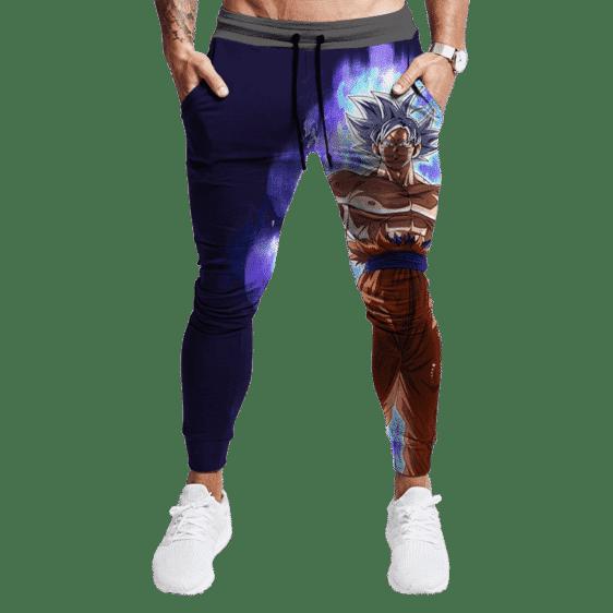 DBZ Goku Mastered Ultra Instinct Navy Blue Jogger Pants
