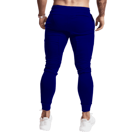 Dragon Ball Z Majin Badge Awesome Navy Blue Tracksuit Bottoms