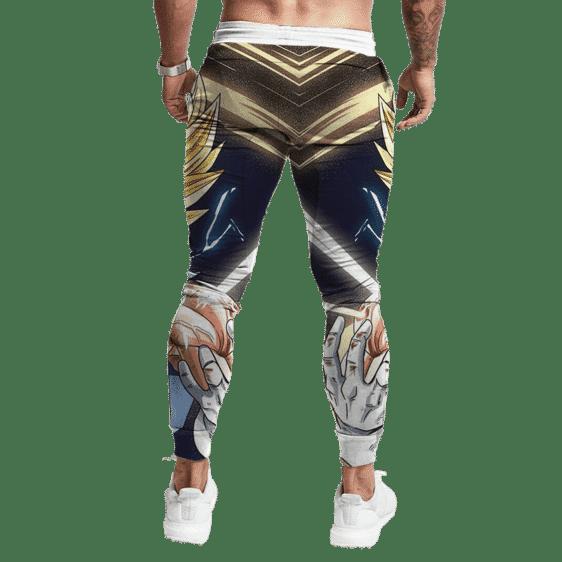 Dragon Ball Z Majin Vegeta Injured Battle Mode Dope Track Pants