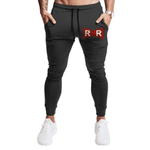 Dragon Ball Z Red Ribbon Army Logo Cool Dark Track Pants