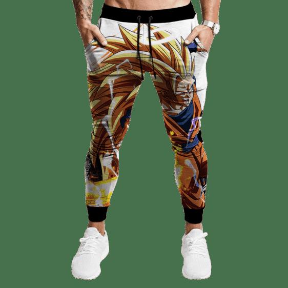 Dragon Ball Z SSJ3 Goku HD Epic All Over Jogger Pants