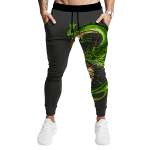 Dragon Ball Z Shenron The Eternal Dragon Dark Tracksuit Bottoms
