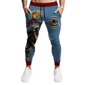 Dragon Ball Z Super Saiyan Future Trunks Capsule Corp Joggers