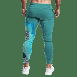 DBZ Vegeta Super Saiyan God Blue Aura Teal Cool Joggers