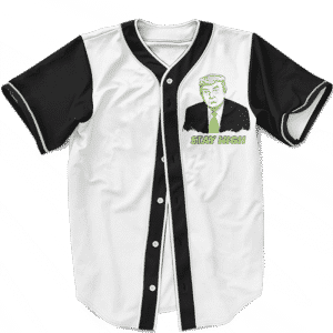 Former President Trump Stay High Tribute Funny Baseball Jersey