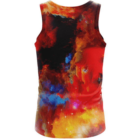 JFK Tribute Smoking Joint Dope Trippy Art Awesome Tank Top - Back