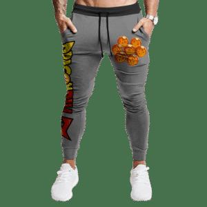 Dragon Ball Z Complete 7 Minimalist Gray Cool Stylish Sweatpants