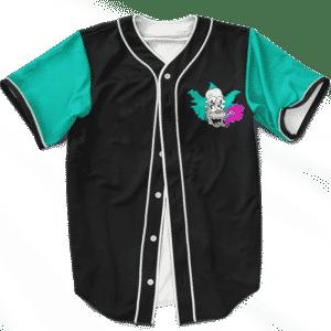 Krusty The Clown Kush 420 Marijuana Weed Baseball Jersey