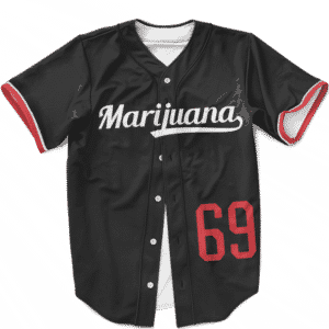 MLB Dodgers Marijuana OG Kush 69 Black Edition Baseball Jersey