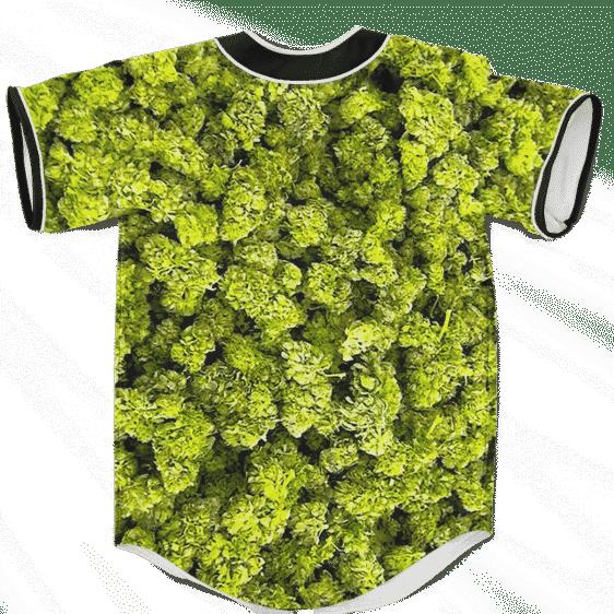 Marijuana Kush Nugs All Over Print Awesome Baseball Jersey