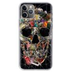 Random Nature Photos Forming Skull Awesome iPhone 12 Case