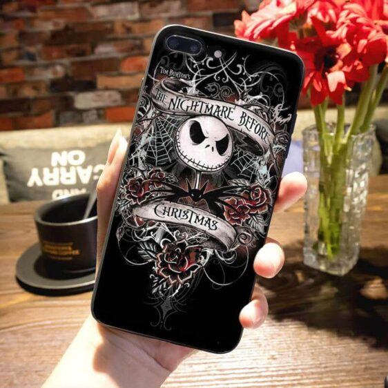 The Nightmare Before Christmas Epic Skull iPhone 12 Case
