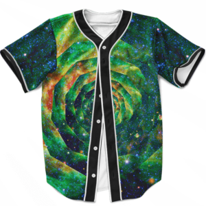 Trippy Galaxy Jimi Hendrix Smoking Joint 420 Baseball Jersey