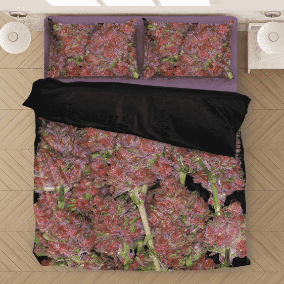 Weed Purple Haze Awesome Buds Wonderful Bedding Set