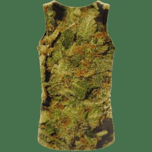 Weed Top Shelf Quality Nugs Marijuana 420 Wonderful Tank Top - Back