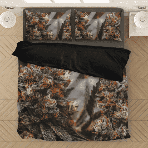Wonderful Marijuana Kush Nugs All Over Print Bedding Set