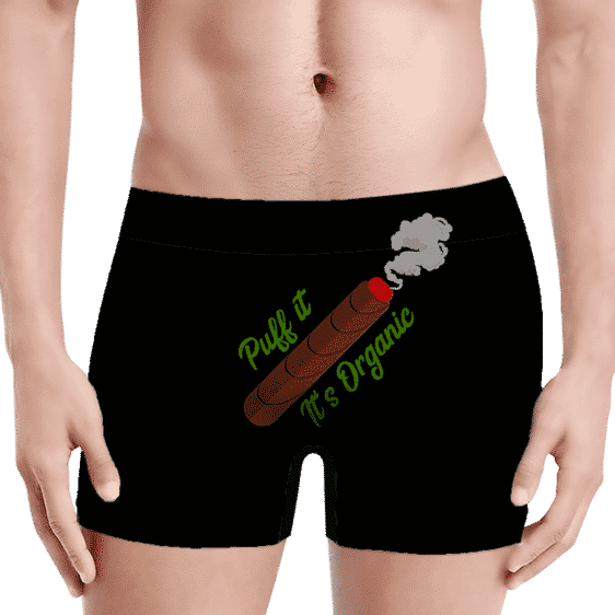 420 Puff it, It's Organic Weed Blunt Marijuana Men's Underwear