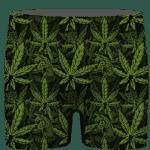 420 Weed Hemp Marijuana Pattern Awesome Men's Underwear