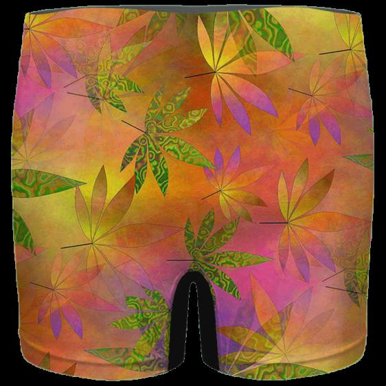 420 Weed Marijuana Colorful Artwork Dope Men's Boxer