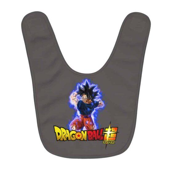 Dragon Ball Super Goku Ultra Instinct Attack Cool Baby Bib