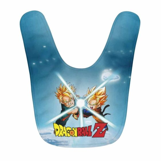 Dragon Ball Z Young Goten & Trunks Flash Attack Cool Baby Bib