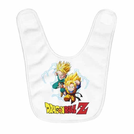 Dragon Ball Z Kid Trunks & Goten SSJ2 Cool Baby Bib