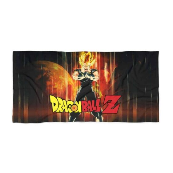 Dragon Ball Z Vegito Super Saiyan 2 Awesome Beach Towel