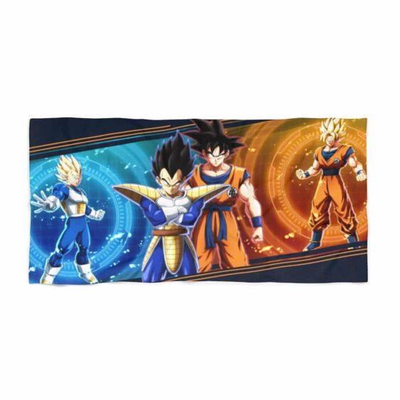 Dragon Ball Z Goku & Vegeta Saiyan Warriors Dope Beach Towel