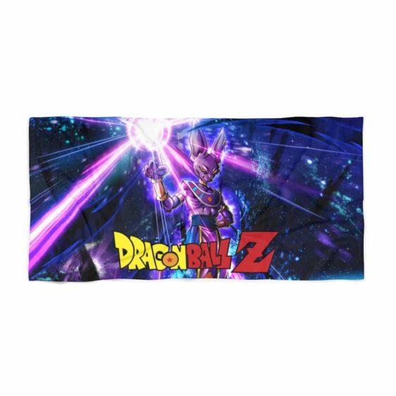 Dragon Ball Z Beerus God of Destruction Dope Beach Towel