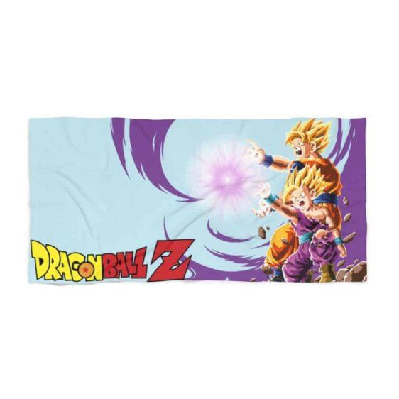 Dragon Ball Z Goku Gohan SSJ2 Flash Combine Dope Beach Towel